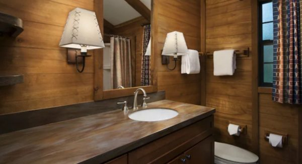 Bathrooms at Disney's Fort Wilderness Cabins