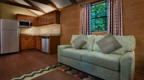 Kitchen at Disney's Fort Wilderness Cabins