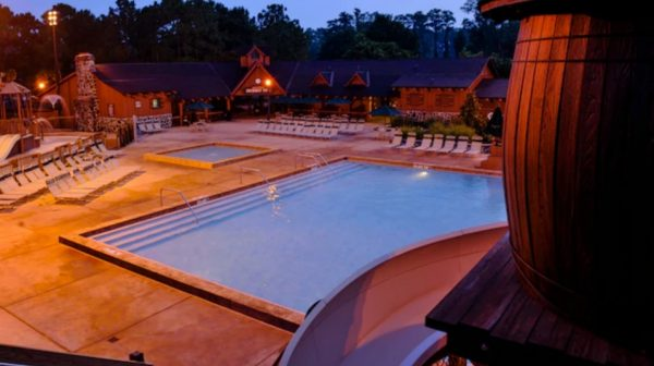 Swimming pools at Fort Wilderness campground