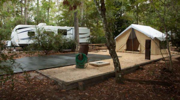 Fort Wilderness Preferred Campsites