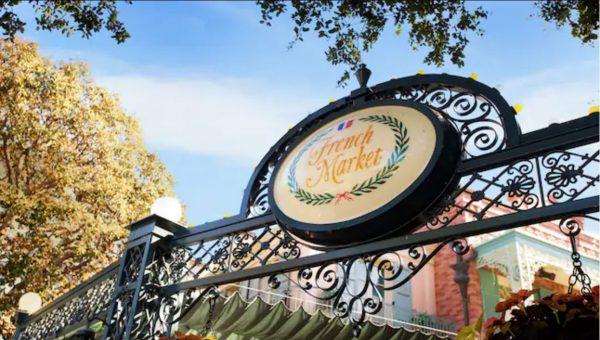 French Market in Disneyland