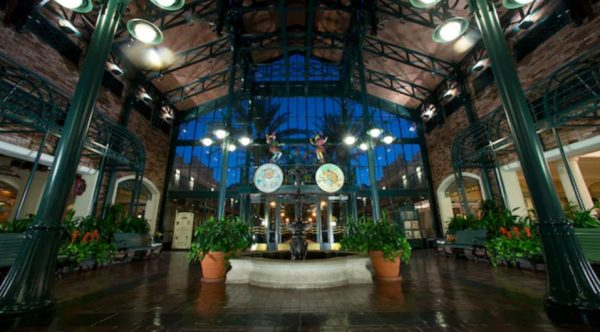 Lobby at Disney's French Quarter