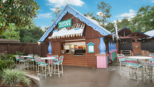 Complete Guide to Blizzard Beach at Disney World - Frostbite Freddy's Frozen Freshments