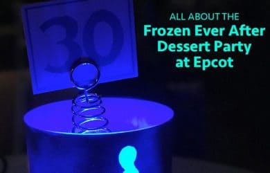 frozeneverafterdessertparty 390x250 - All about the Frozen Ever After Dessert Party at Epcot