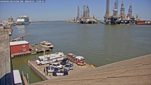 Galveston, Texas Port Cam