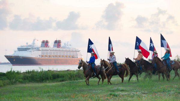 Galveston, Texas Disney Cruise Line port