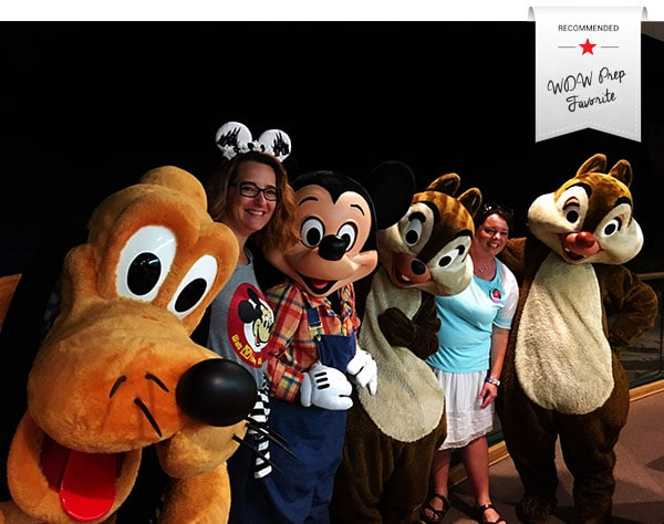 gardengrillwithribbon - Where to meet Mickey Mouse at Disney World (no more Talking Mickey)