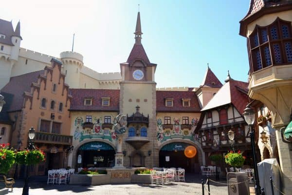 Germany Pavilion in Epcot
