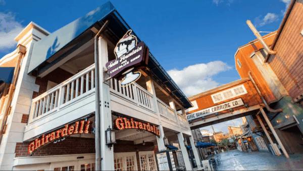 Ghirardelli in Disney California Adventure
