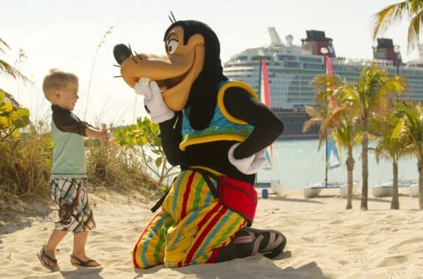 Goofy on Castaway Cay