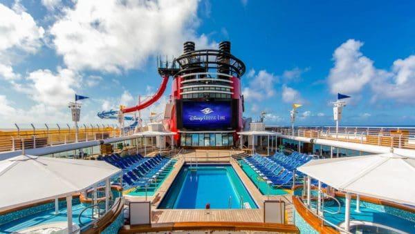 Goofy's Pool on Disney Cruise Line