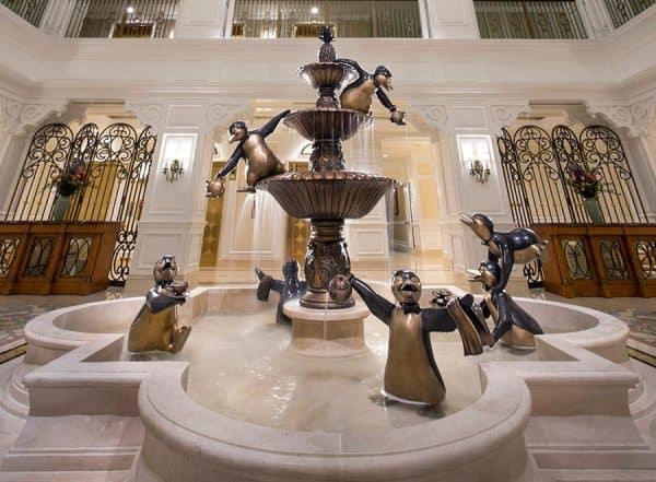 Grand Floridian Villas lobby