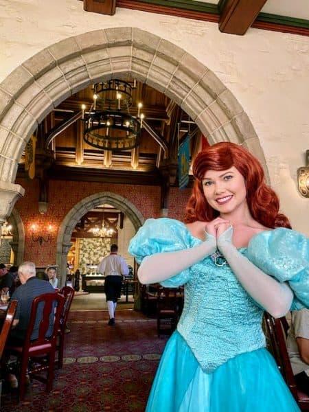 Akershus character dining in Epcot at Walt Disney World