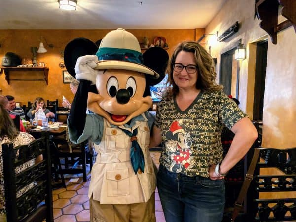 Tusker House character dining at Disney World