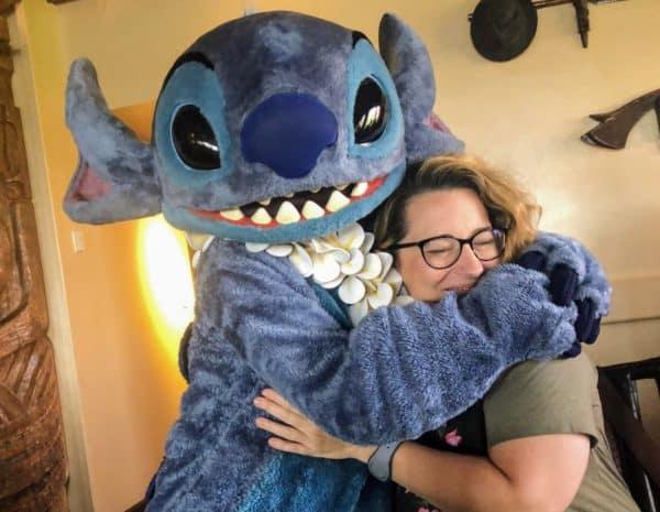 Stitch at Ohana