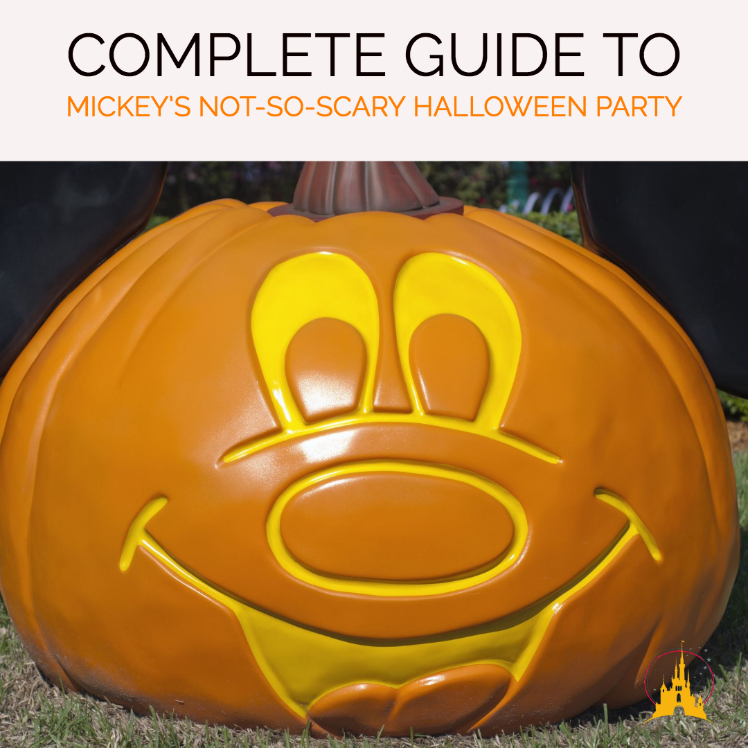 Guide To Mickeys Not So Scary Halloween Party In 2018