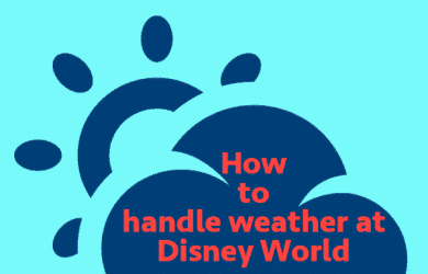 handleweather 1 390x250 - How to handle the weather at Disney World