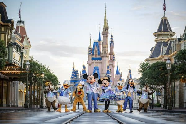 mickey and friends 50th anniversary