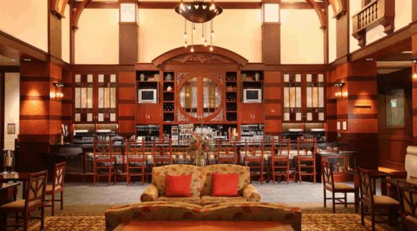 Hearthstone Lounge at Disneyland's Grand Californian Hotel