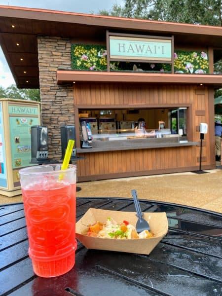 Hawaii food and wine