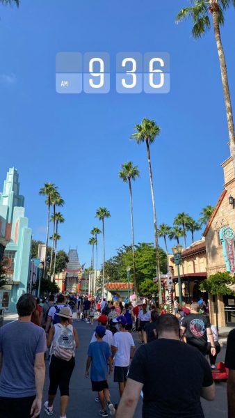 Entering Hollywood Studios
