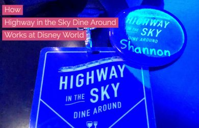 highway in the sky square 1 390x250 - How Highway in the Sky Dine Around Works at Disney World
