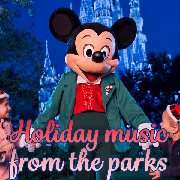 mickey holiday music header