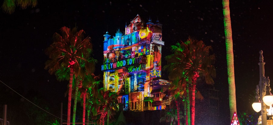 Hollywood Holiday Tower Hotel at Hollywood Studios