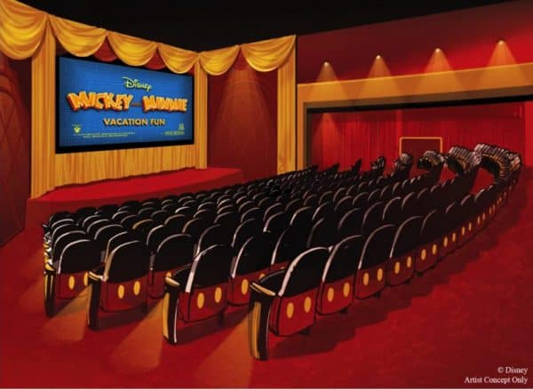 Concept art for Mickeys Shorts Theater coming to Hollywood Studios