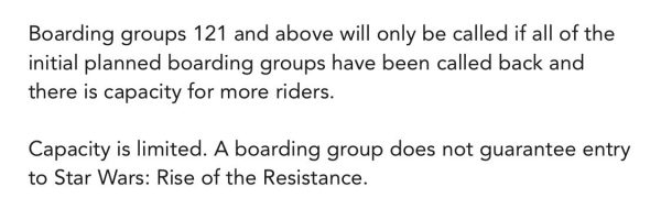 Boarding Groups