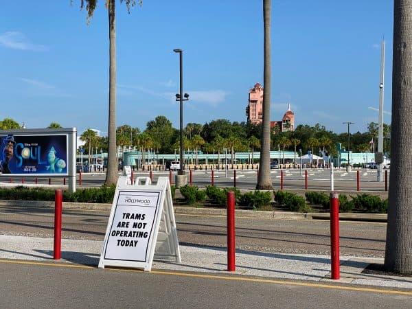 parking lot tram