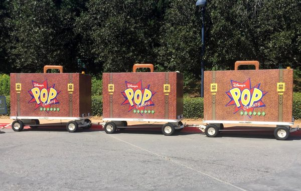 Pop century luggage transport