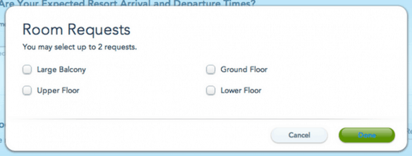 my disney experience screenshot check in