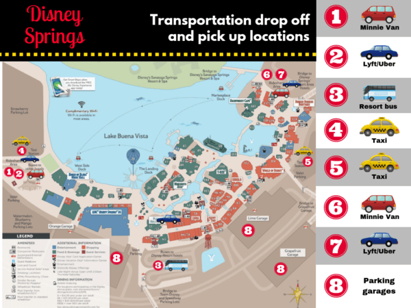 Disney Springs transportation options