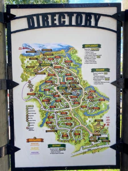 Fort Wilderness map