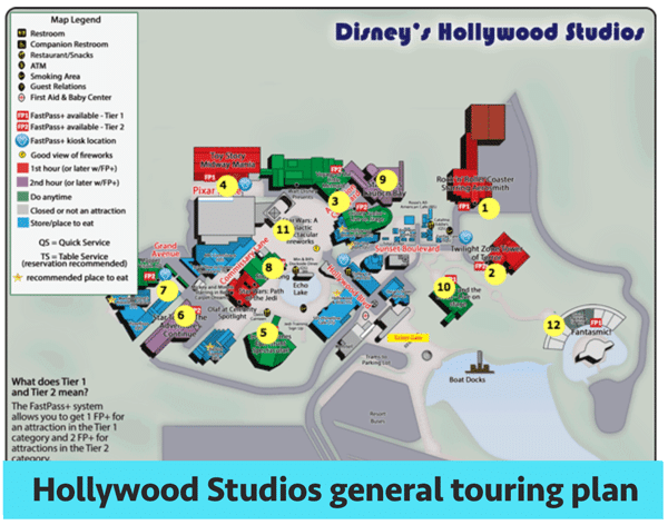 hstouringplan - Hollywood Studios touring plans for 2018 (with FastPass+ suggestions)