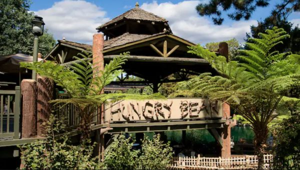 Hungry Bear restaurant in Disneyland