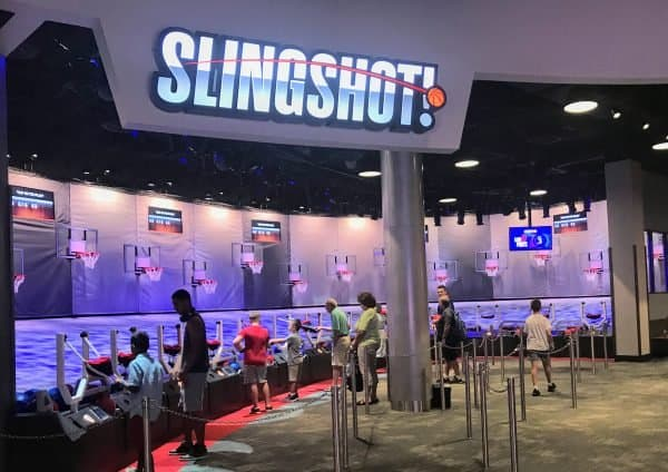 Slingshot at NBA Experience