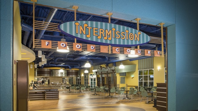 All-Star Music – Temporarily Closed - Intermission Food Court (dinner) – Temporarily Closed