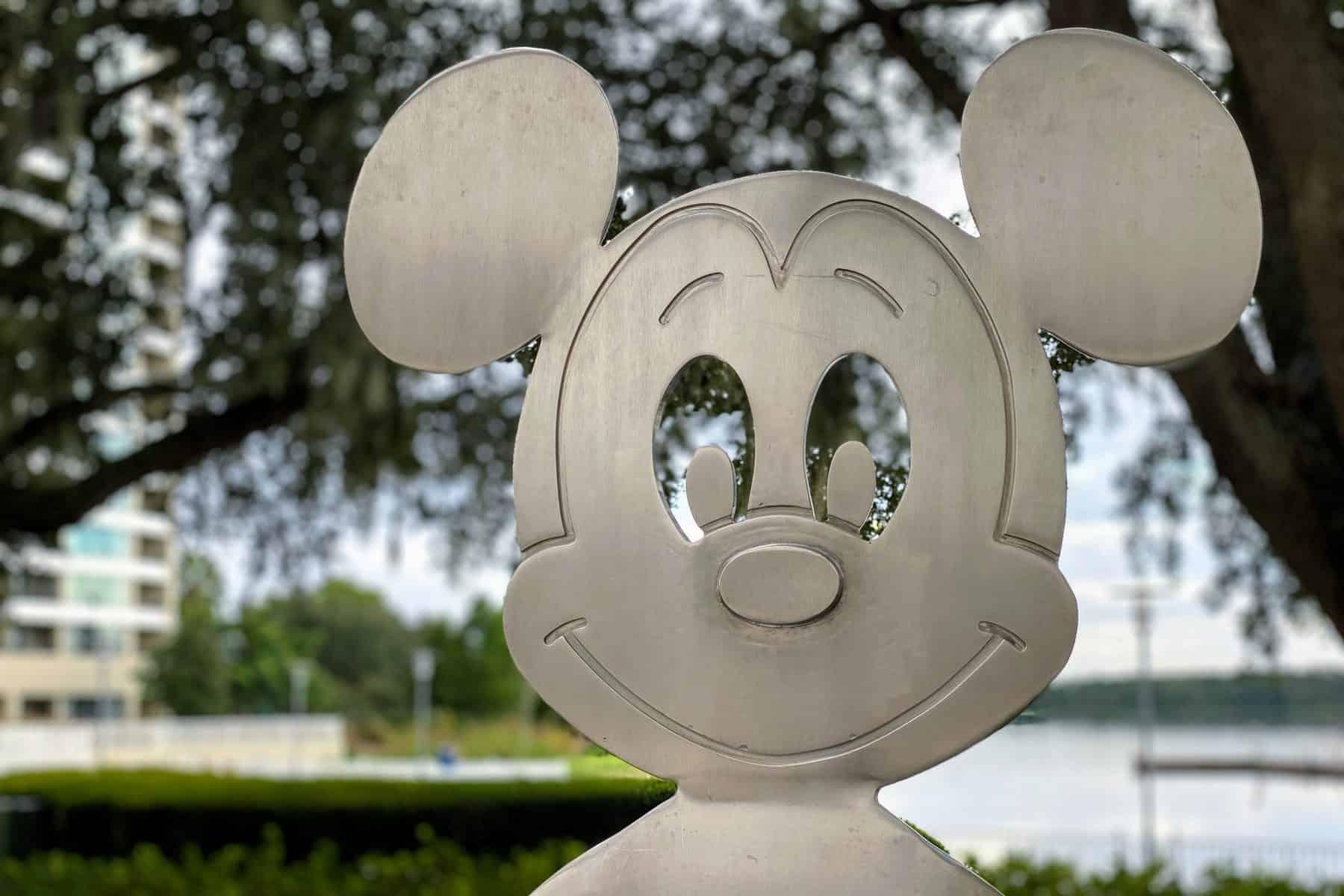 Mickey art at the Contemporary
