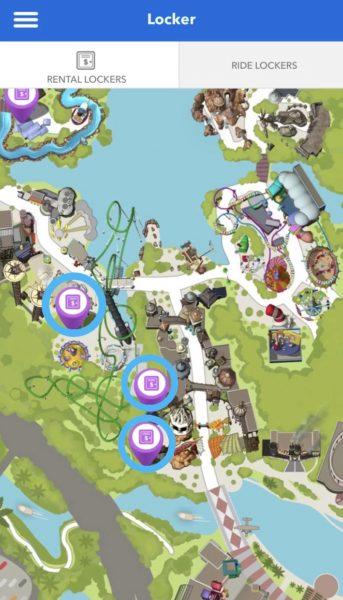 islands of adventure locker rentals