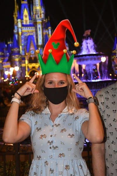 holiday disney world magic shot