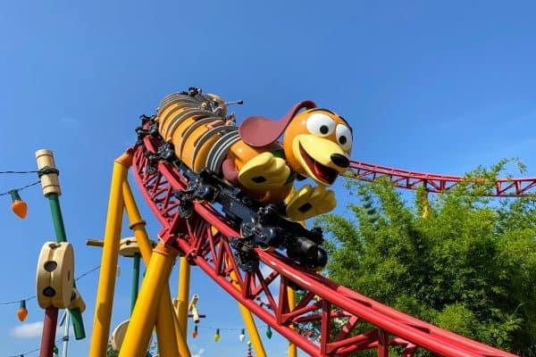 Slinky Dog Dash January at Disney World