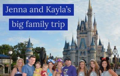 jenna kayla trip 1 390x250 - Kayla and Jenna's big family trip - PREP182