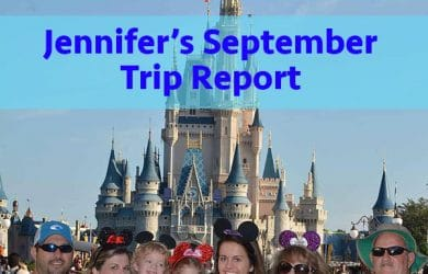Jennifer's September trip report