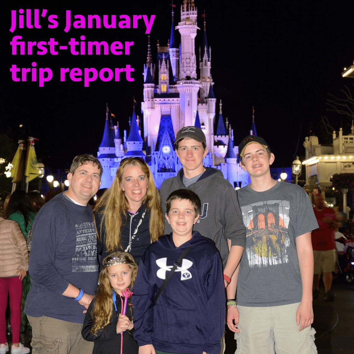 Jill's January first-timer trip report | WDW Prep School