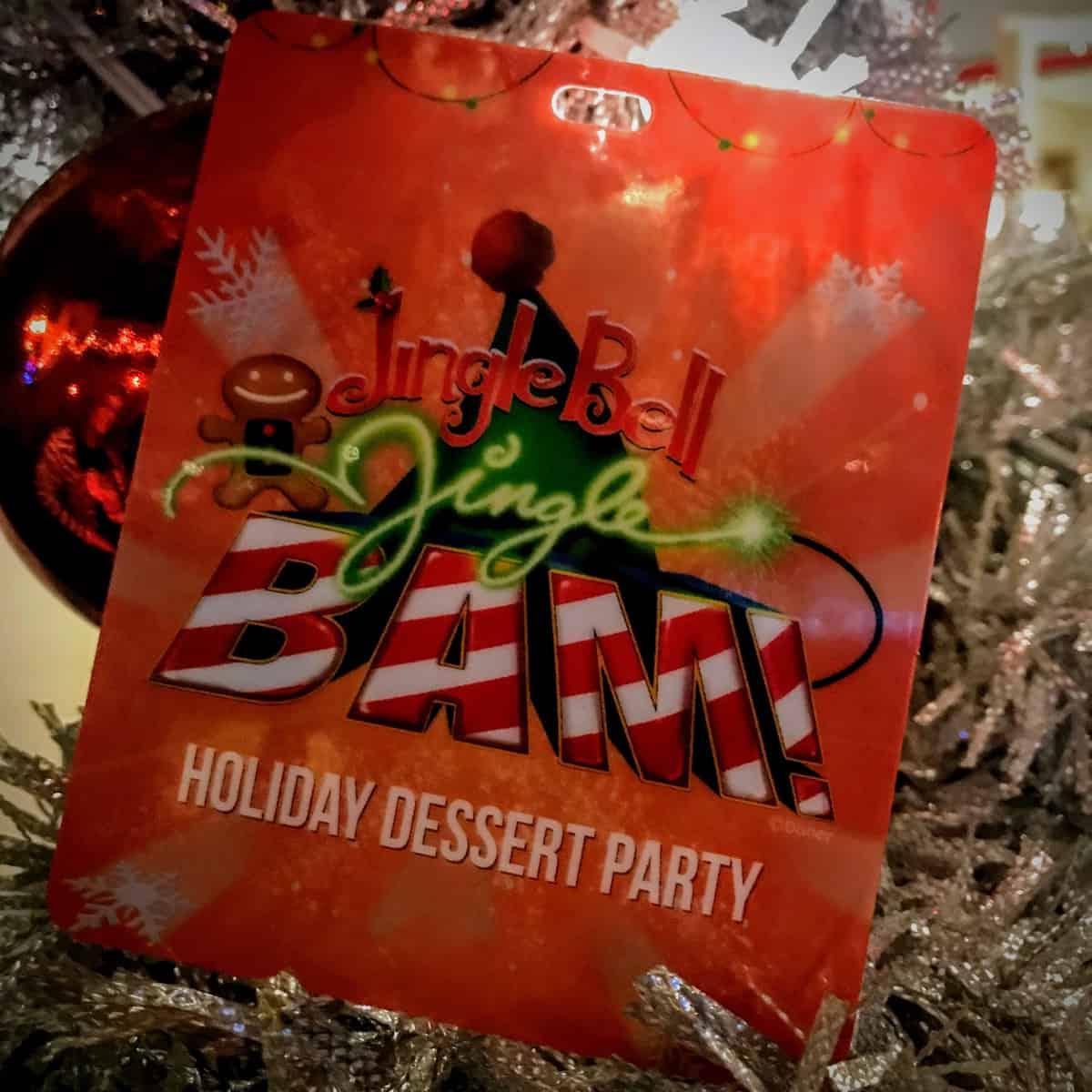 Jingle Bell, Jingle BAM Dessert Party