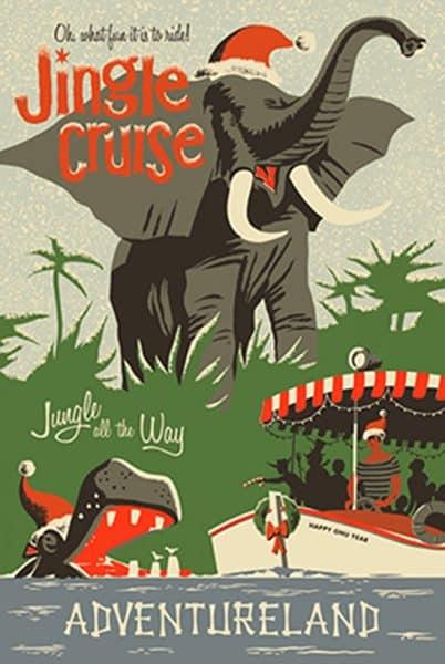 2013 jingle cruise poster