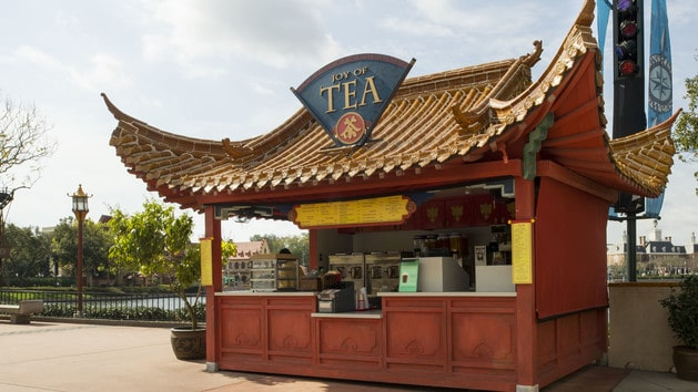Epcot Dining - Joy of Tea