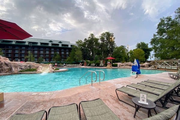 Pool at Wilderness Lodge